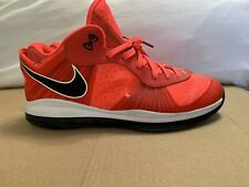 Nike LeBron 8 Low Solar Red Size 15