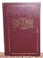 Lectures on Faith Joseph Smith School of Prophets 1985 LDS Mormon Red Hardback