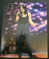 CARLY SMITHSON SIGNED 8X10 PHOTO AMERICAN IDOL C W/COA+PROOF RARE WOW