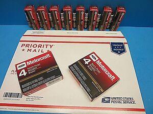 8 Spark Plugs OEM FORD MOTORCRAFT SP459 AGSF22FSM Platinum 5.4L 5.9L 6.4L V8