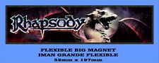 RHAPSODY FAREWELL TOUR FLEXIBLE BIG MAGNET IMÁN GRANDE A0109