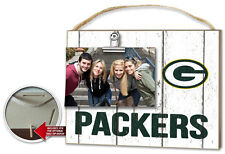 Green Bay Packers Clip It Weathered Logo Photo Frame [NEW] NFL Picture Plaque