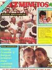 DIEZ MINUTOS nº 1461: Julio Iglesias, Agata Lys, Jerry Lewis, Nick Nolte...