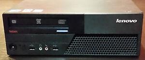 Lenovo M58p SFF Intel Core2Duo E8400 3,00GHz 4GB 160GB Win7