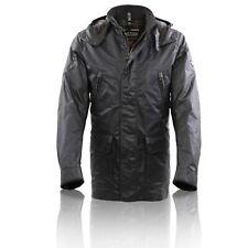 MATCHLESS Herren Winter Wax Jacke NOTTING HILL Black 110010 Größe L