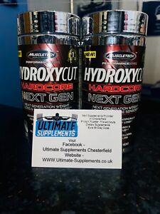 MUSCLETECH HYDROXYCUT HARDCORE NEXT GEN FAT BURNERS(1 tub)