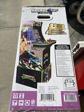 New ListingArcade1Up Teenage Mutant Ninja Turtles Arcade Cabinet Machine w/ Riser