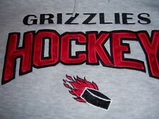 GRIZZLIES WOMENS HOCKEY HOODED  SWEATSHIRT 2005 STATE