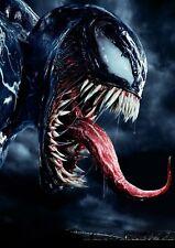 Marvel Venom - 2018 Movie Superhero Large Art Photo Poster / Canvas Pictures