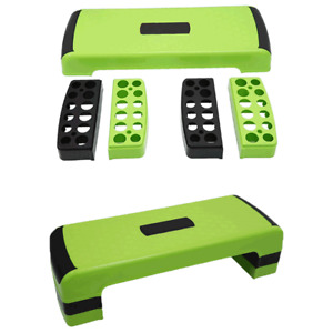 Fitness Exercise Aerobic Stepper Adjustable Cardio Yoga Step Board for Gym &Home