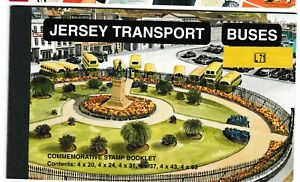 S35845 Jersey 1998 MNH Transports Buses Booklet