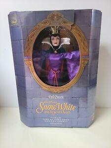 Disney Limited Collector Dolls Evil Queen Snow White & Seven Dwarfs Mattel 18626