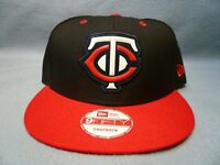 New Era 9Fifty Minnesota Twins Beveled Rubber Snapback BRAND NEW hat cap