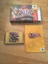 Legend of Zelda: Majora's Mask Collectors Edition Nintendo 64 N64 Cib NC1