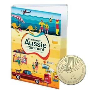 2019 $1 GREAT AUSSIE COIN 26 UNC Coins A-Z in Album Folder (Full Set)