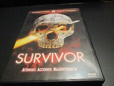 "DVD ""SURVIVOR"" Robert POWELL / David HEMMINGS - horreur"