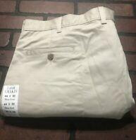 Farah Khaki Flat Front Men's Pants Size 44 x 30