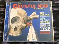 CD Grateful Dead live Las Vegas 3/29/69 rare complete show NM Road Trips 1969