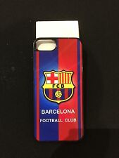 FC Barcelona iPhone 7 & 8 Plus Hard Case Aluminium Cover Perfect Fitted BrandNew