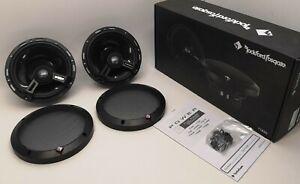 """Rockford Fosgate 6.5"""" Car 2-Way Full-Range Euro Fit Speakers T1650 OPEN-BOX#"""