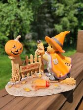 Signed Cherished Teddies Exclusive Halloween Claire Delight in Fright 4027952