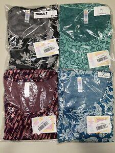 4 LuLaRoe Classic T Shirt Size Medium 9