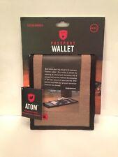 Grand Trunk ATOM Passport Wallet Safari Tan Nylon RFID Security Travel New/other