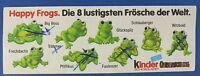 Happy Frogs - original Beipackzettel - Ü-Ei - BPZ