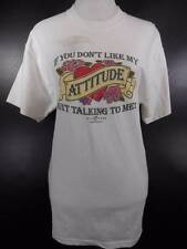 NEW!! Cool Women's S/M Big Dogs White Attitude Short Sleeve T-Shirt NWT If you d
