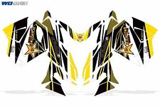 Decal Graphic Wrap Kit Ski Doo Skidoo Sled Snowmobile 2013+ REV XS Renegade MXZ