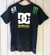 Subaru Rally Team Mirra 40 Monster Energy Drift DC Skate T-Shirt Sz Mens Small