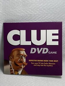 CLUE DVD Board Game Replacement DVD Disc & Sleeve