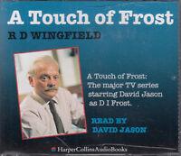 RD Wingfield - A Touch Of Frost 3CD Audio Book Abridged David Jason FASTPOST