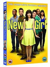 NEW GIRL Complete Series 4 DVD All Episodes Fourth Season Original UK Release R2