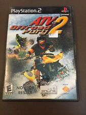 PS2G155 ATV Offroad Fury 2 (Sony PlayStation 2, 2002) NOT FOR SALE DEMO
