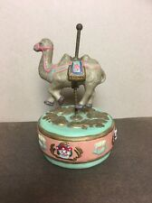Ceramic Camel Music Box Carousel