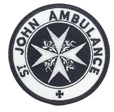 St Johns Ambulance Dr Who Patch (3 Inch) Embroidered Iron / Sew on Badge Emblem