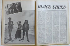 Black Uhuru Little Richard Elvis Presley Elton clippings cuttings Greece 1980s