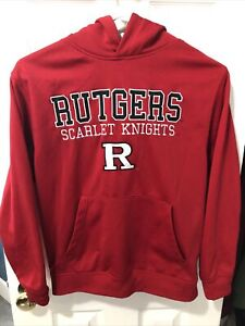 Rutgers Scarlet Knights Colosseum Athletics Youth Red Hoodie Sweatshirt Small