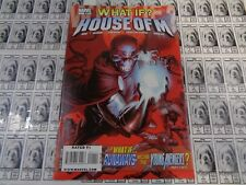 What If House of M (2008) Marvel - #1, Scarlet Witch 3 Wrds, Reed/Pantalena, VF+