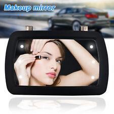 Mini Car Sun Visor Mirror Sun Shading Mirror Auto Make Up Portable with 6 LED