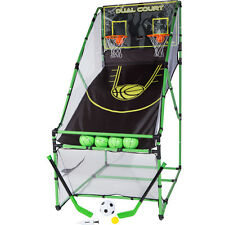 Franklin 3-IN-1 Arcade Centre with Dual Court Rebound Basketball Game FC54044