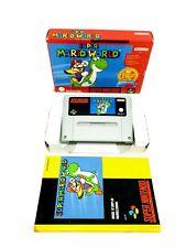 Super Nintendo Super Mario World Classic Complete [FAH] ►Very Rare◄ SNES