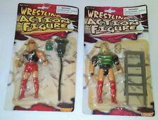Manley Wrestling Action Figure Lot MIP KO Wrestler MOTU Vintage Sports 90s Toys