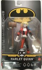 BATMAN MISSIONS - HARLEY QUINN 6 INCH FIGURE Mattel With Weapon Accessory New