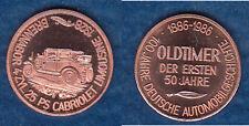 Automobil Brennabor Brandenburg an der Havel Cu-Medaille 18 mm (Tb.uu)