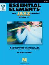 Essential Elements for Jazz Ensemble Book 2 Flute Instrumental Jazz 000877513
