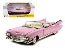 Maisto 1:18 1959 Cadillac Eldorado Biarritz Diecast Model Car Pink 36813