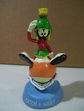 VINTAGE LOONEY TUNES MARVIN THE MARTIAN CATCH A WAVE PVC FIGURE 1989 APPLAUSE