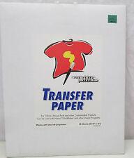 Austin James Transfer Paper 10 Sheets NEW Ink Jet Printer T-Shirts Mouse Pads